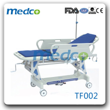 Resuscitation trolley for patient transfer TF002