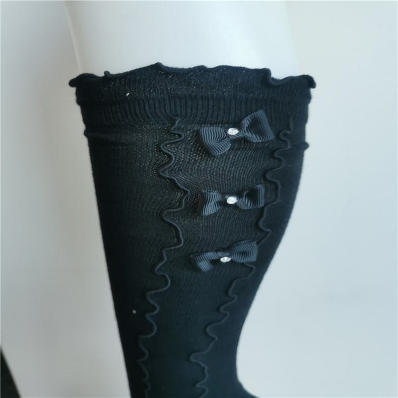 Bowknot Lace Socks