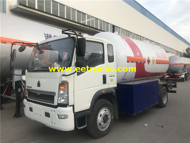 Propane Dispenser Tank Trucks