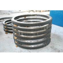 Des paliers de pivotement de haute qualité, des roulements à rouleaux Carter, des paliers de pivotement de grue à tour, fournissent des paliers de pivotement