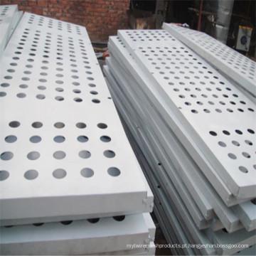 Aço 316L inoxidável perfurado placa de Metal
