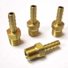 CNC Machining Brass Motor Screw Piston Bahagian
