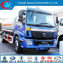 Euro III 2 Axle Aluminum Fuel Tank Truck of 15cbm Capacity