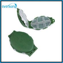Boîte de crochet de leurre de pêche de pêche de pêche de compartiment de 8 compartiments