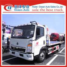 SINOTRUK HOWO 4X2 3ton levante el camión del grúa del remolque del peso para la venta