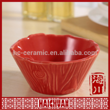 Vajilla de cerámica Bakeware Pet Bowl Vajilla-mini taza redonda