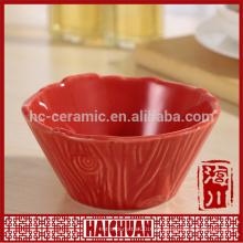Cerâmica Bakeware Pet Bowl Flower Pot Mesa-mini copo redondo