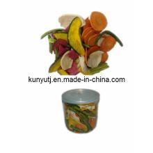 Chips à base de fruits et de légumes frits à basse température