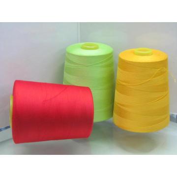 Закрученная полиэстера Швейная нить (20-е/2-5000Y)