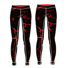 venta caliente de yoga de las mujeres pantalones compresión nuevos pantalones de yoga personalizado
