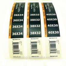 etiqueta engomada clara de la etiqueta del vinilo claro de la impresión directa de la fábrica