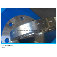 A105 Carbon Steel Sorf Raise Face Slip on Flange