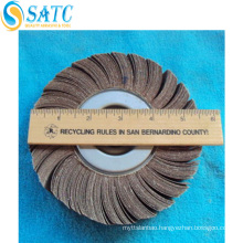 Top sale convolute abrasive wheel for stainless steel