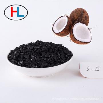 Récupération de l'absorption de la vapeur d'essence de l'automobile charbon actif de la noix de coco