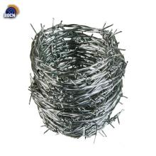 rollo de alambre de púas galvanizado