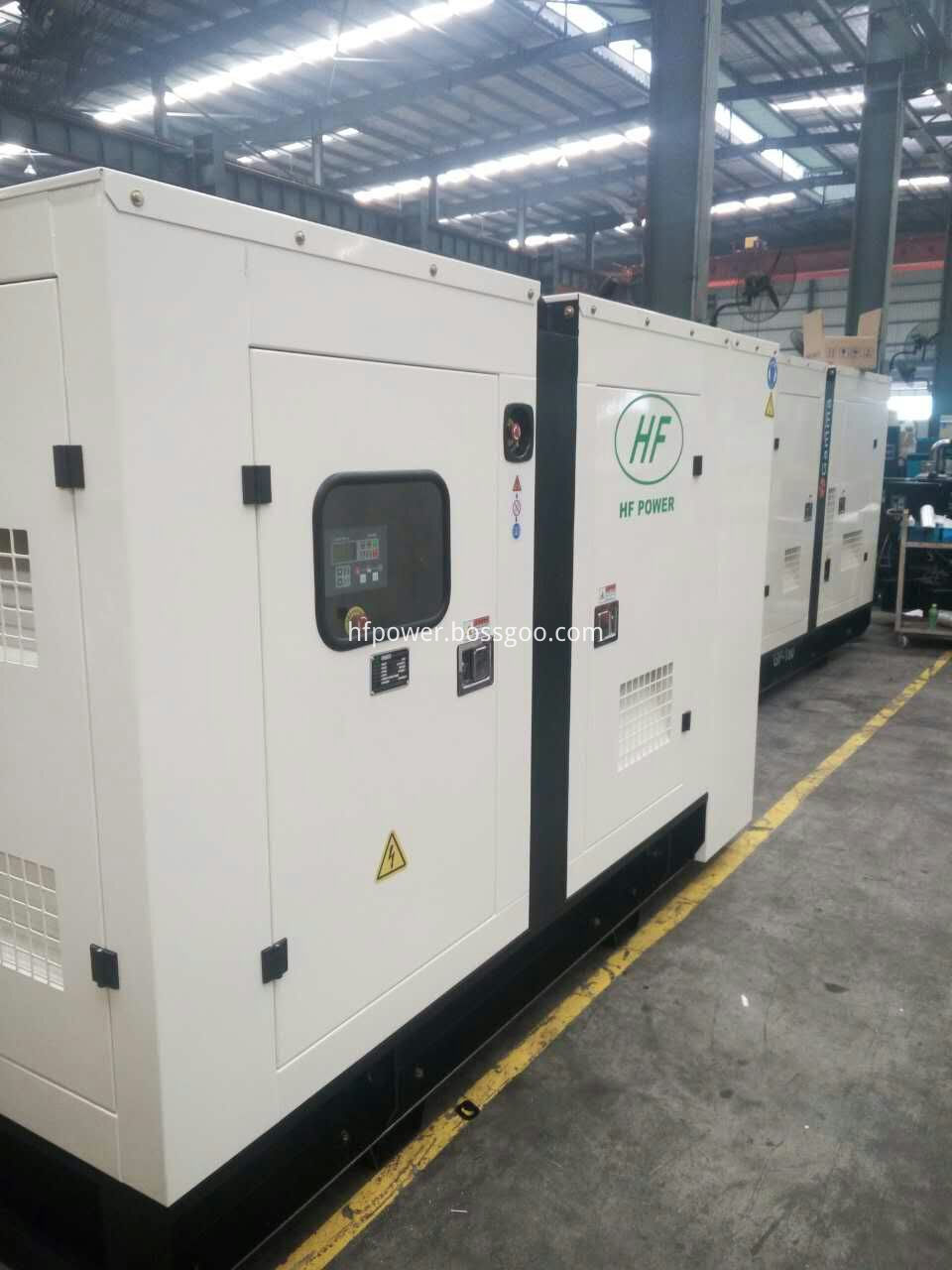 80kw generator set silent type-1