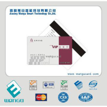 Promotional HiCo Plastic Magnetic stripe card with 4000oe
