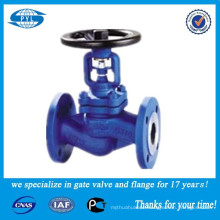 bellows flange globe valve