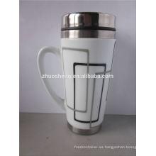 nuevos productos 2015 producto innovador por mayor de cerámica mágica taza de acero inoxidable