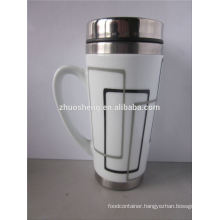 new products 2015 innovative product stainless steel wholesale ceramic magic mug