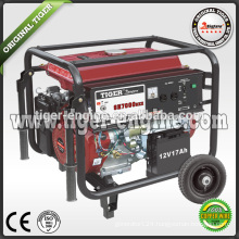 TIGER5.5KW/13HP SH6000DXE Industrial machinery gasoline generator electric start system