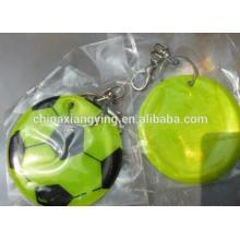Promotion Reflective Key Chain, Soft PVC Key Chain Custom, , Football pendant Chain