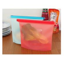 1 Liter 30OZ Silicone Food Bag Storage Container