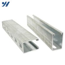 Prix de l'acier inoxydable de canal de trempe à chaud Unistrut d'acier inoxydable, canal d'acier inoxydable