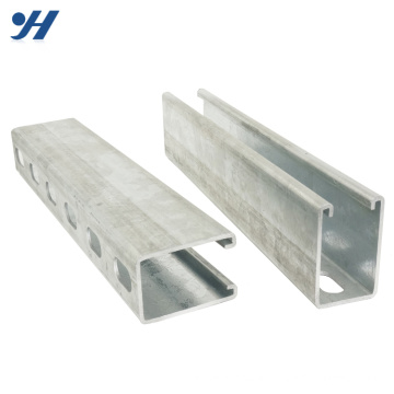 Stainless Steel Unistrut Hot Dip c channel steel price,stainless steel channel
