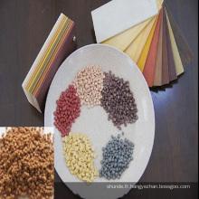 Chaîne de production de pelletiseur en plastique en bois