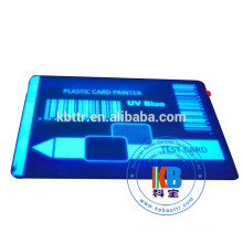 Compatible feature blue UV zebra p330i Evolis Eltron pebble ribbon