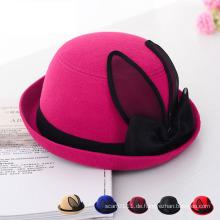 Dame Fashion Imitation Wolle gestrickt Winter Freizeit Bucket Hat (YKY3231)