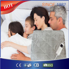 New Arrival Super Soft Fleece Washable Heated Throw / Electric Over Blanket