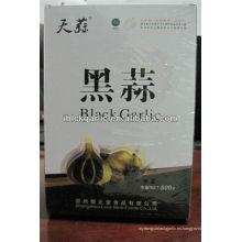 Ajo puramente natural, orgánico y verde negro (500g / caja)