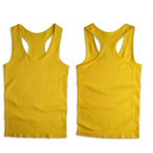Costilla sin fisuras Sporting Racerback Vest Sexy para las mujeres
