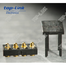 Spring Loaded Connector with 4pin