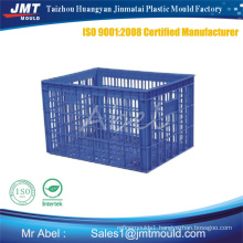 Plastic fruit crate moulds