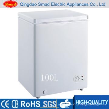 Top Open Chest Freezer para o mercado dos EUA (BD100)