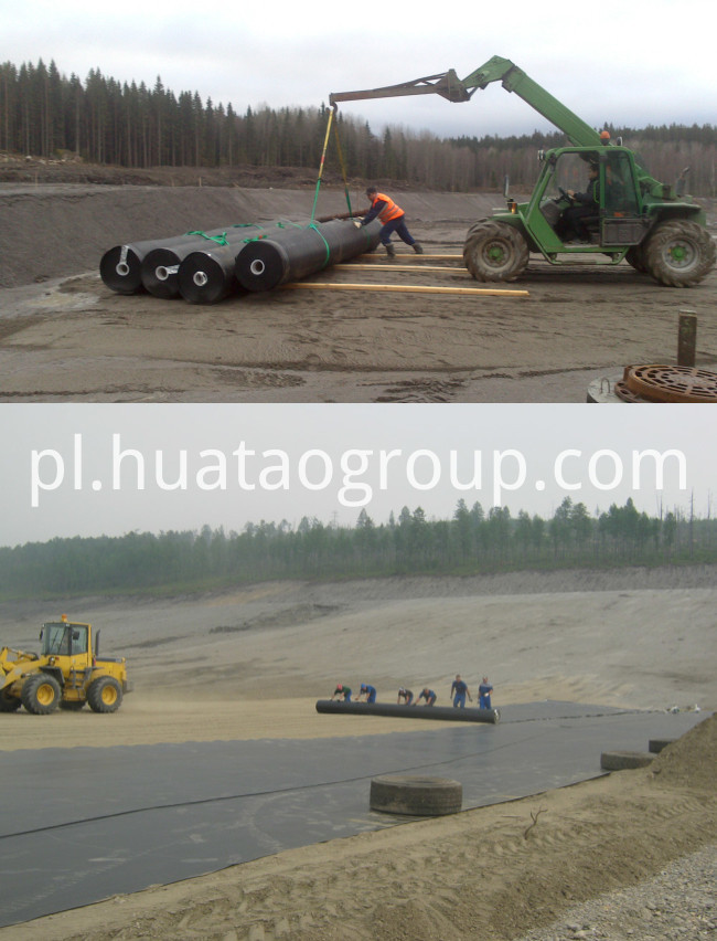 HDPE Pond Liner Application