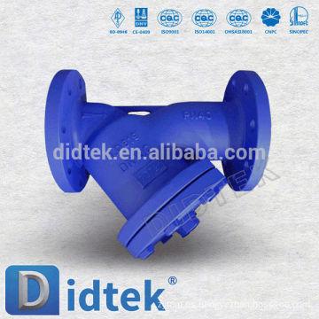 Didtek Fast Delivery Acero fundido DIN DN100 Tipo Y Filtro