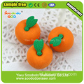 Leuke Oranje Shaped Rubber Eraser Fruit Rubber Sets