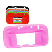 Silicone Case Protective Cover Skin for Wii for U Gamepad protector Half Body