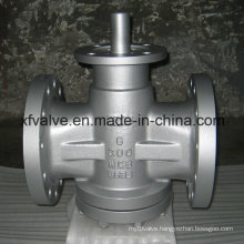 Inverted Pressure Oil Seal Balance Lubricated Plug Valve