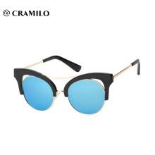Gafas de sol vendedoras calientes del espejo del ojo de gato de Cramilo