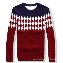 Mulheres Moda Algodão Knitting Sweater