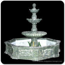 Marble Water Fountain with Three Tiers VMF-N043