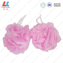 Lace flower mesh sponge bath wholesale item
