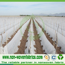 Tissu non-tissé de couverture d'agriculture avec la largeur de 6.4m