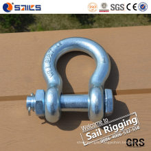China Made G-2130 Safety Bolt Bow Chain Anchor Shackles