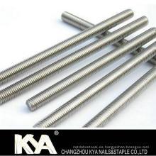 Barra DIN975 / Varilla roscada para la industria